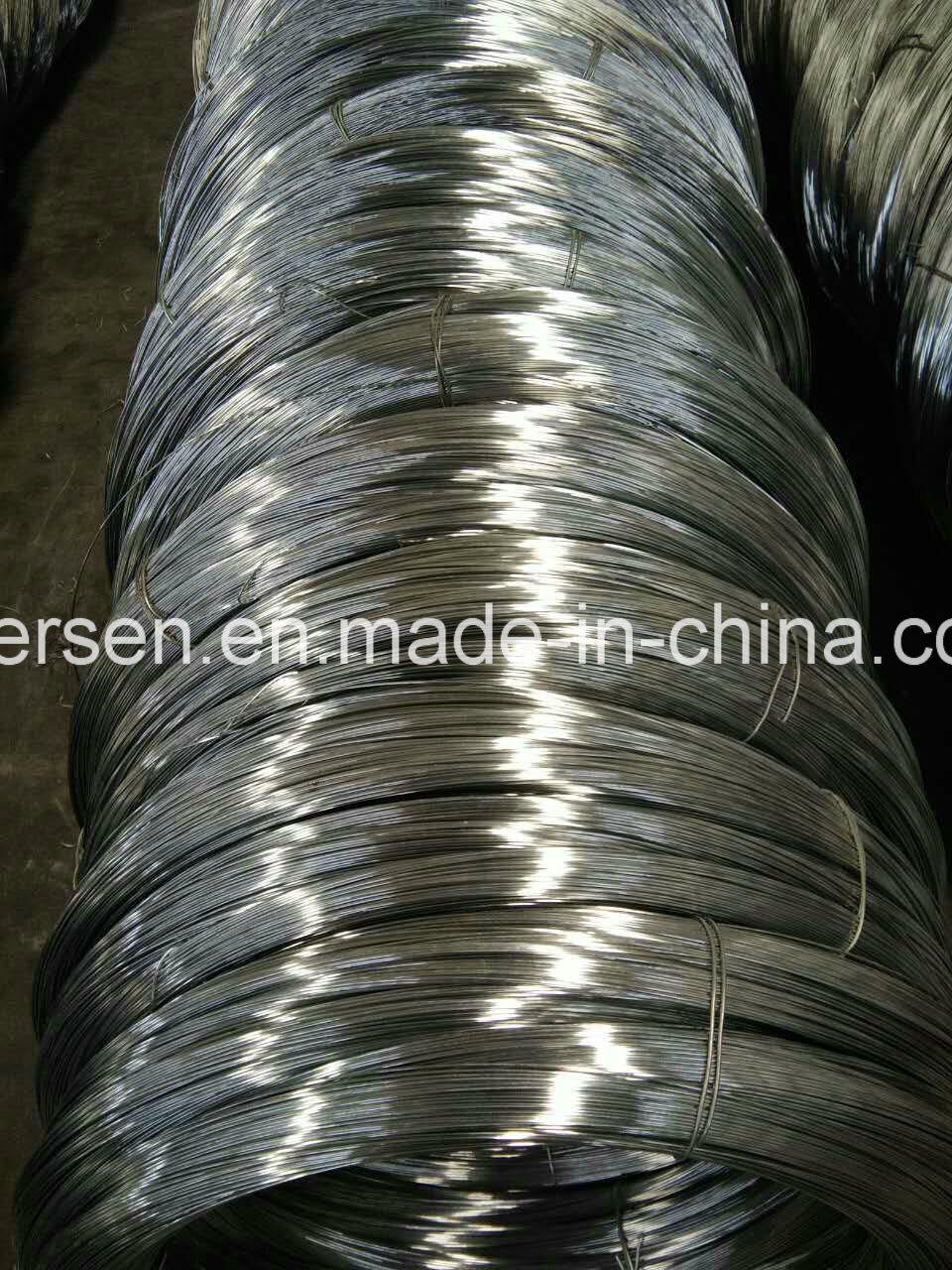 China Hot Sale Galvanized Iron Wire/Bwg22 Galvanized Wire/ Low ...