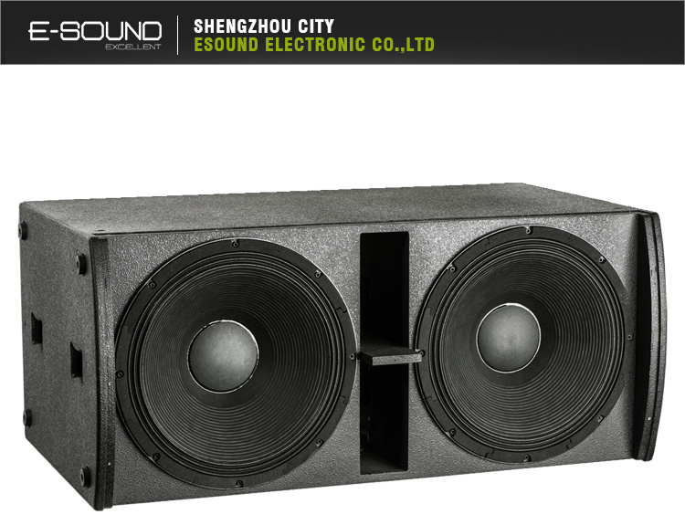 [Hot Item] Dual 18 Inch Professional Speaker Box Design PE218sub