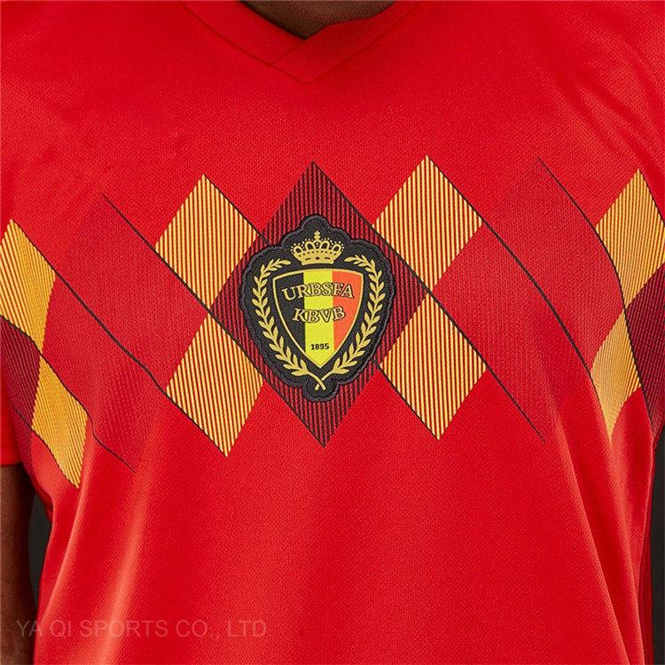 42a9a836f46 CH Factory Wholesale Customize 2018 World Cup Cheap Football Uniforms Shirt  Marker Soccer Jersey