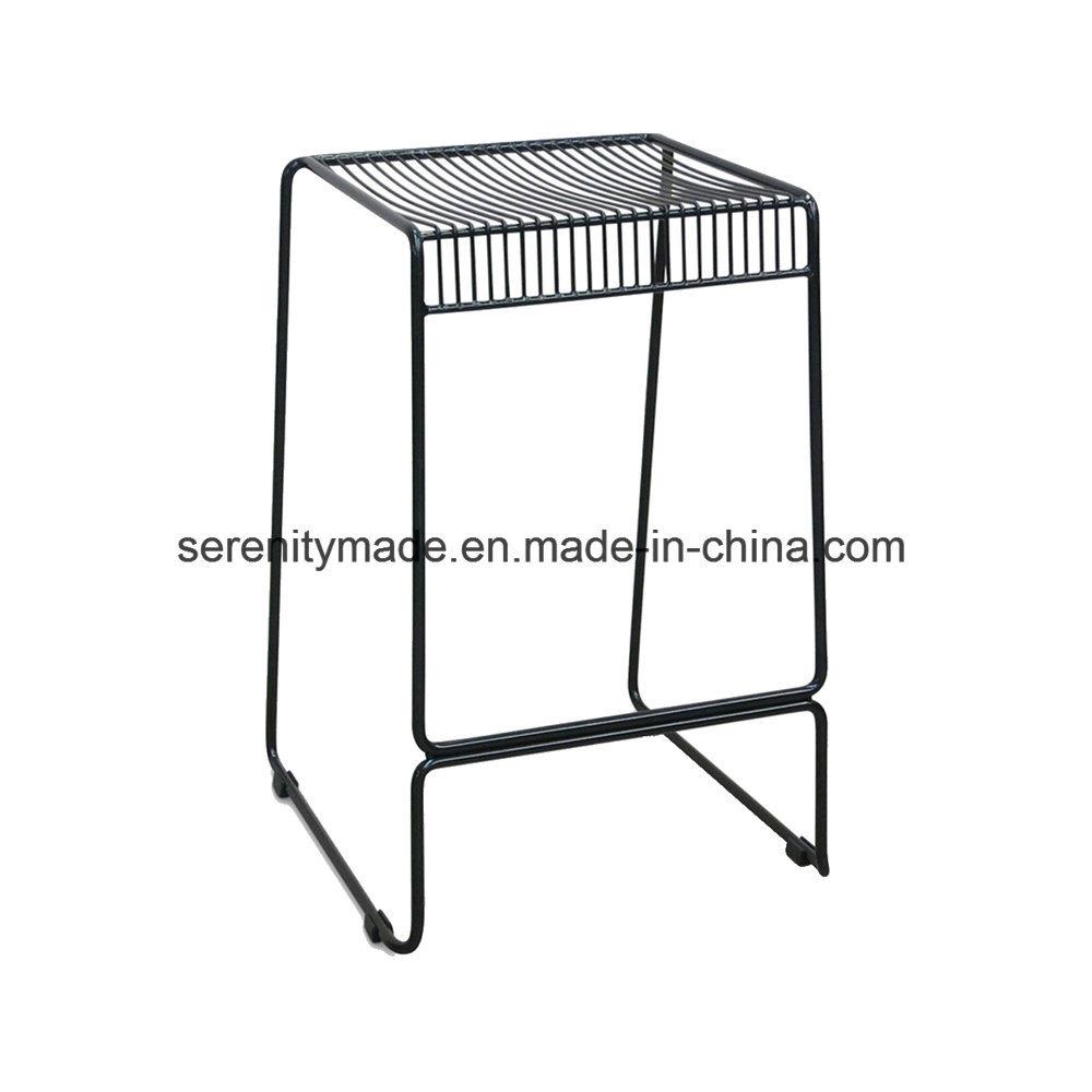 Surprising Hot Item Industrial Style Stackable Outdoor Event Black Steel Bar Stool Uwap Interior Chair Design Uwaporg