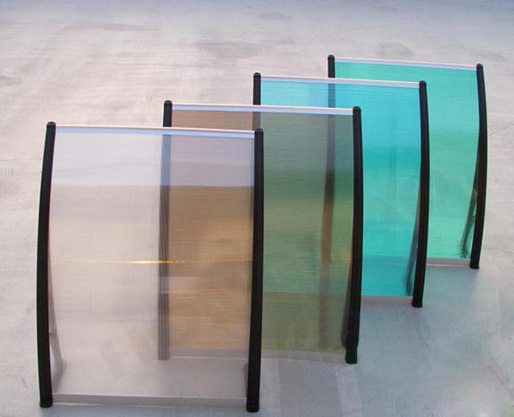 Transparent Glass Sheet Front
