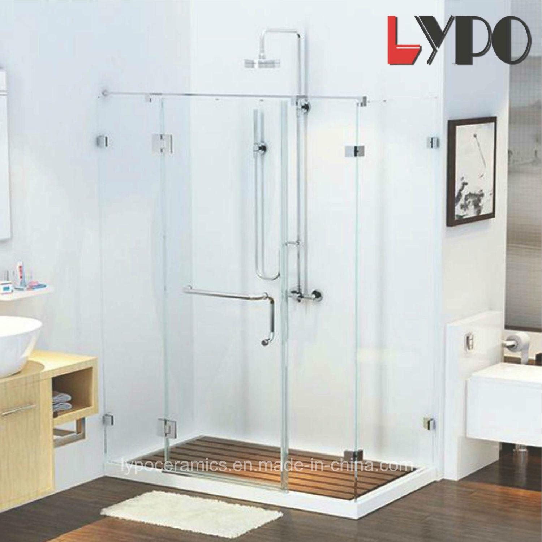 China Hing Door Frameless American Standard Tempered Glass Shower