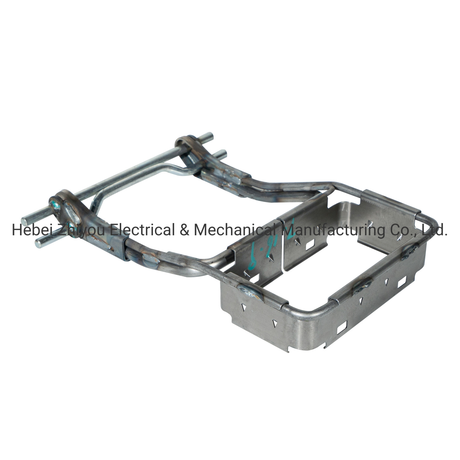 Automotive Sheet Metal Parts Metal Stamping Parts Electrophoresis Arm Rest Metal Frame