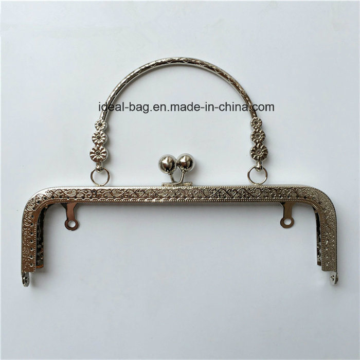 1f35c7b102 Wholesale Handbags Accessories Custom Rose Gold Color Decorative Metal  Purse Frame Clutch Bag Metal Handle Frame Part