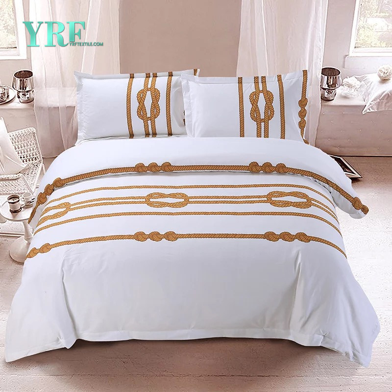 China Yrf Hotel Best Quality New Designed Printed Bedding Sets Set Supply