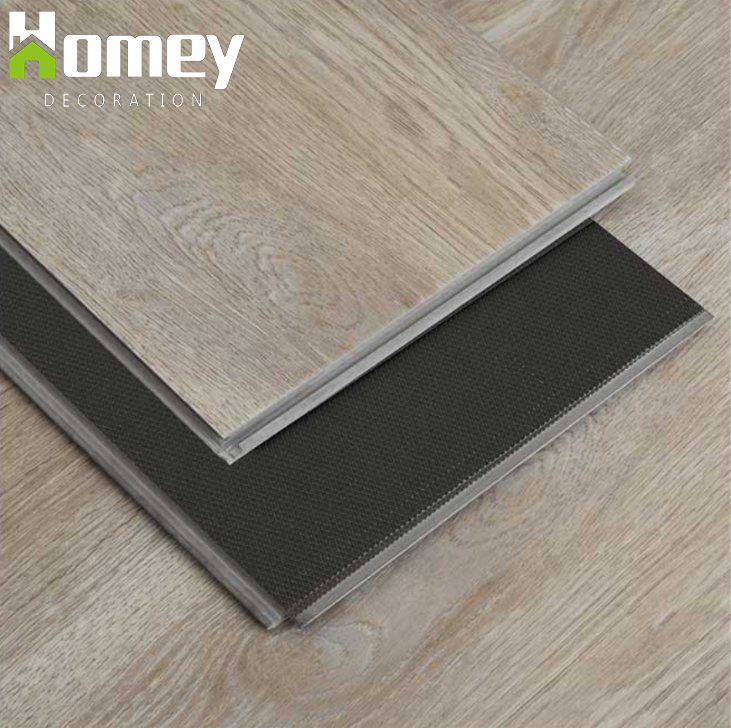 Plastic Click Flooring: China Building Material Spc Plastic Click PVC Flooring
