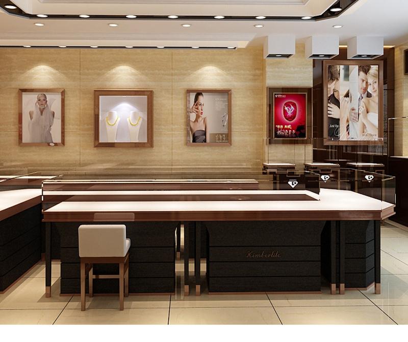 China Custom Jewelry Shop Interior Design With Jewelry Display China Jewelry Display And Display Stand Price