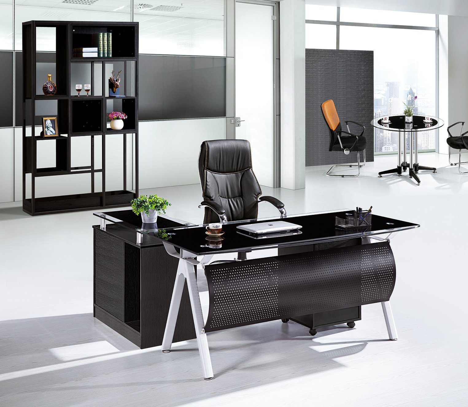 china glass office table executive table new design office