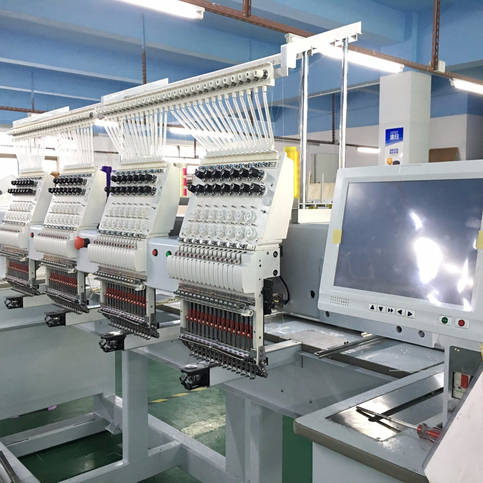 Used Embroidery Machines >> China New Style 4 Head Used Brother Embroidery Machines For Sale