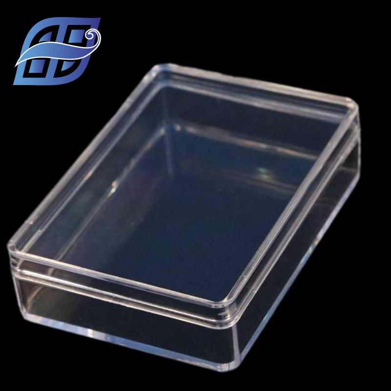 China Ready Goods Small Clear Hard Plastic Gift Packaging Boxes
