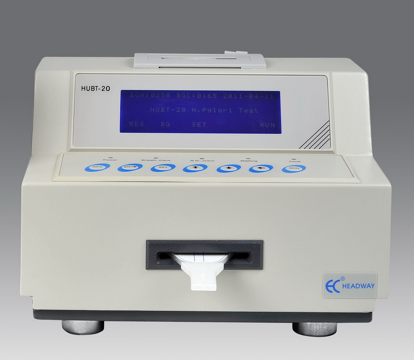 Rapid Test Analyzer for Helicobacter Pylori, Hubt-20