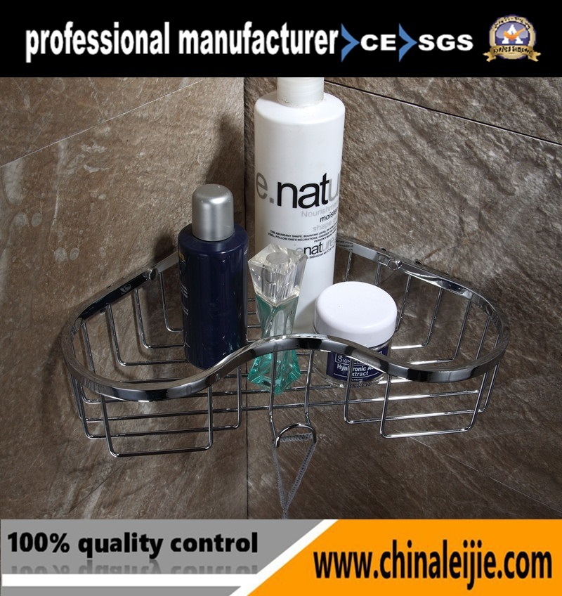 Luxury High Quality Stainless Steel Bathroom Accessory Soap Basket