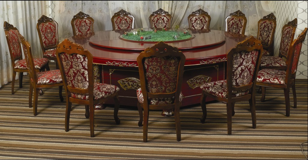 China Hotel Luxury Dining Table And Chair/5 Star Hotel Luxury Dining Sets  (JNCT 057)   China Hotel Furniture, Dining Furniture Sets