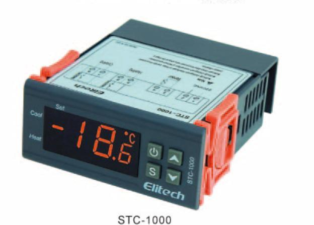 Smart Digital Temperature and Humidity Controller with Relay Output LED Display