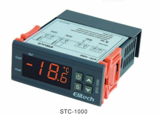 220V Digital Temperature /& Humidity Controller Incubator Thermostat sensor relay