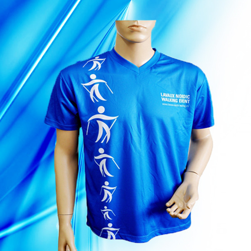 100% Polyester Man′s Sublimation Print T-Shirt