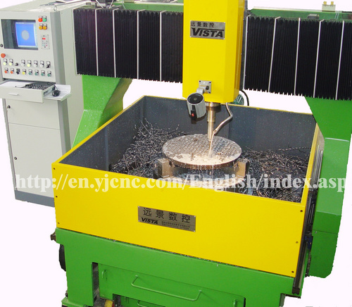 CNC Drilling Machine (small size and economy) Dm/J Series pictures & photos