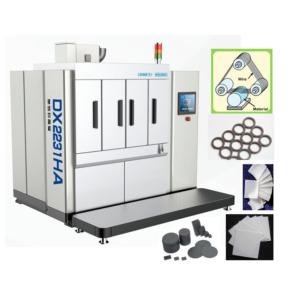 China Dx2231ha Automatic Multiwire Saw to Cut Special Ceramic ...