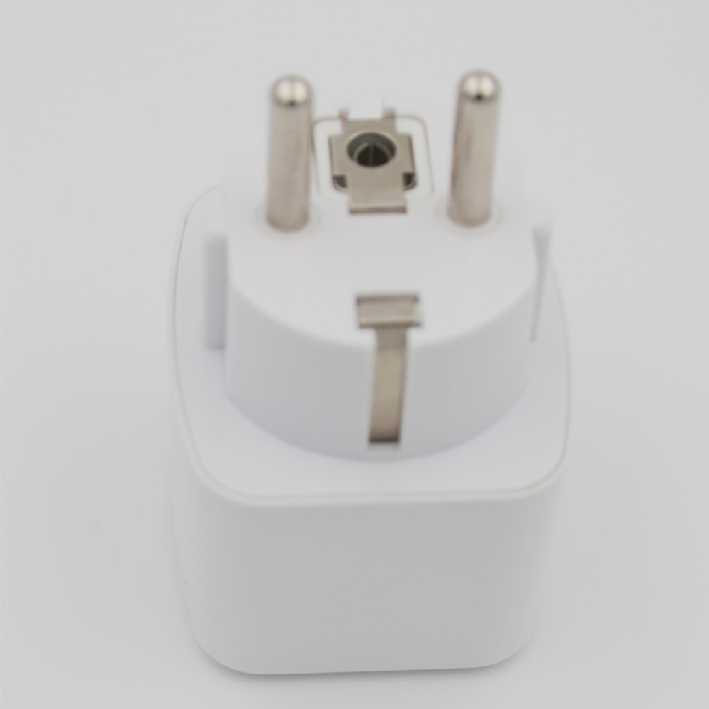 China White Travel Charger Electrical Power Us To Uk Au Eu Brazil Wiring Wall Socket South Africa Italy Plug Adapter Universal Converter