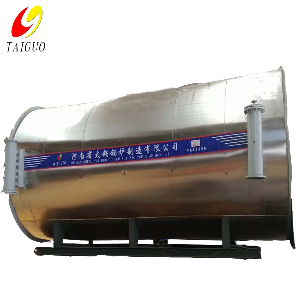 High Temperature Asphalt Bitumen Fluid Boiler Gas Fired Thermal Oil Heater