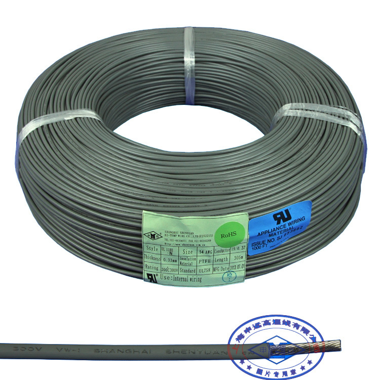 China PTFE Teflon Insulated Copper High Temperature Wire - China ...