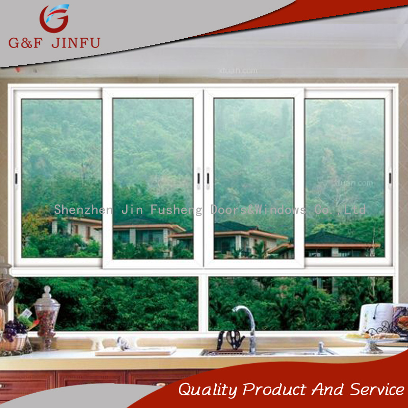 China Double Glass Thermally Insulation Aluminum Frame Glass Sliding ...