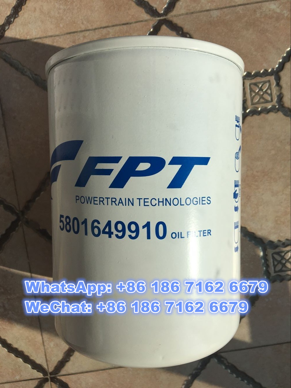 China High Quality Iveco Fiat Hongyan Genlyon Truck Spare Parts Oil Fuel Filters 5801649910