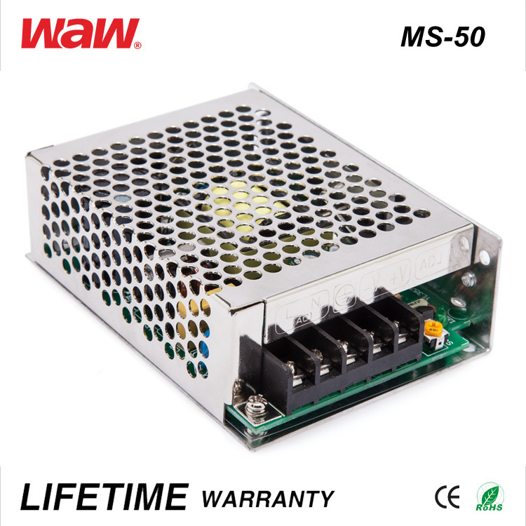 China Ms-50 SMPS 50W 12V 4A Ad/DC LED Driver - China Power Supply ...