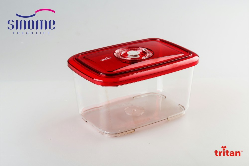 China Sinome BPA Free Kitchen Storage Vacuum Container 20L Square