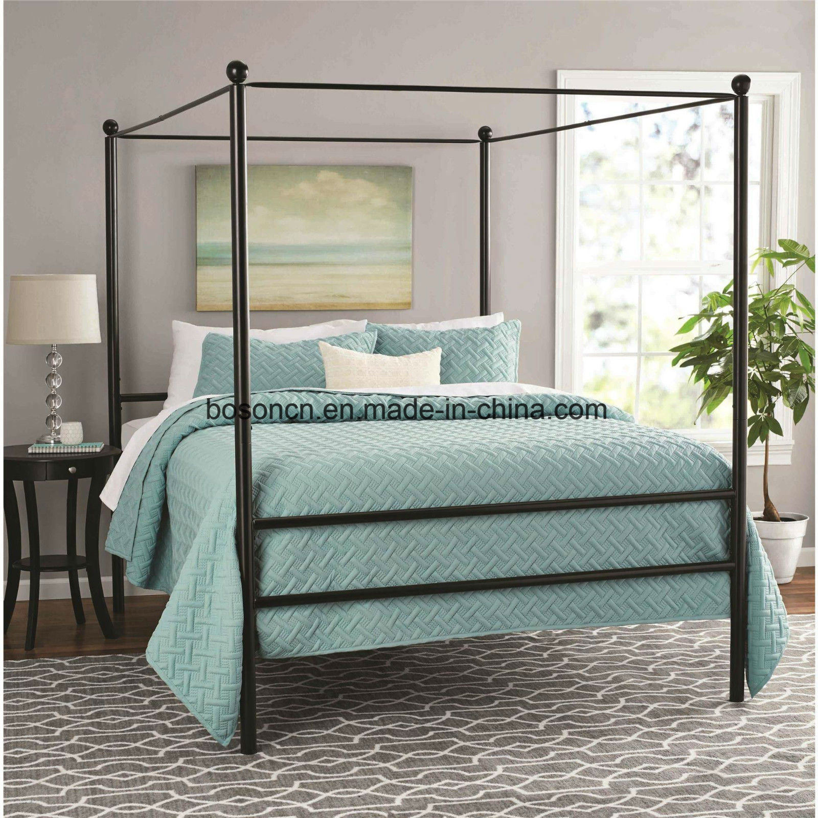 China Metal Four Post Canopy Bed China Metal Canopy Bed Metal Four Post Bed