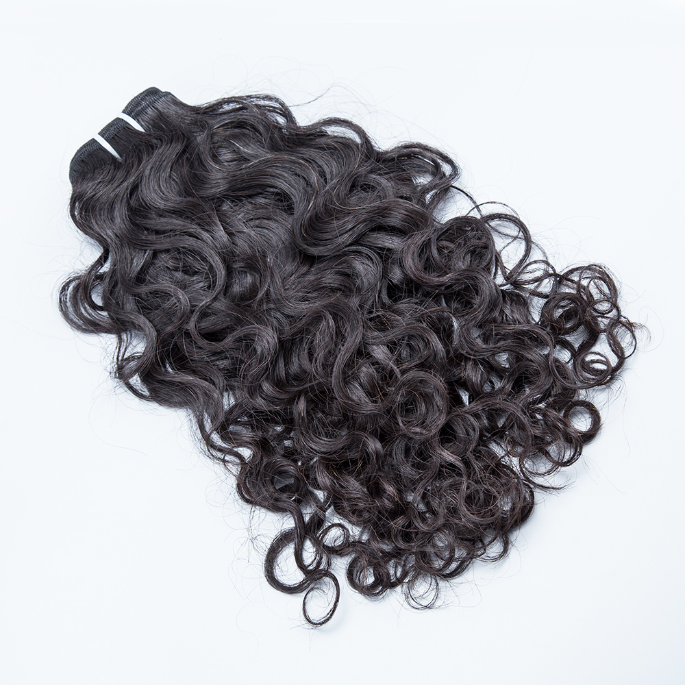 China Loose Curly Weave Hair Virgin Indian Remy Hair China Indian