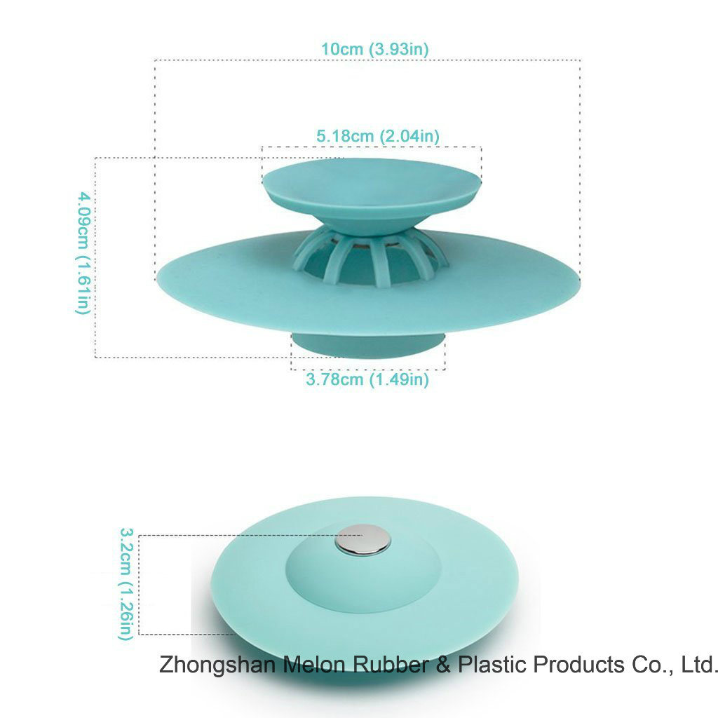 China Shower Drain Stopper Plug Bathtub Cover Portable Silicone Sink ...