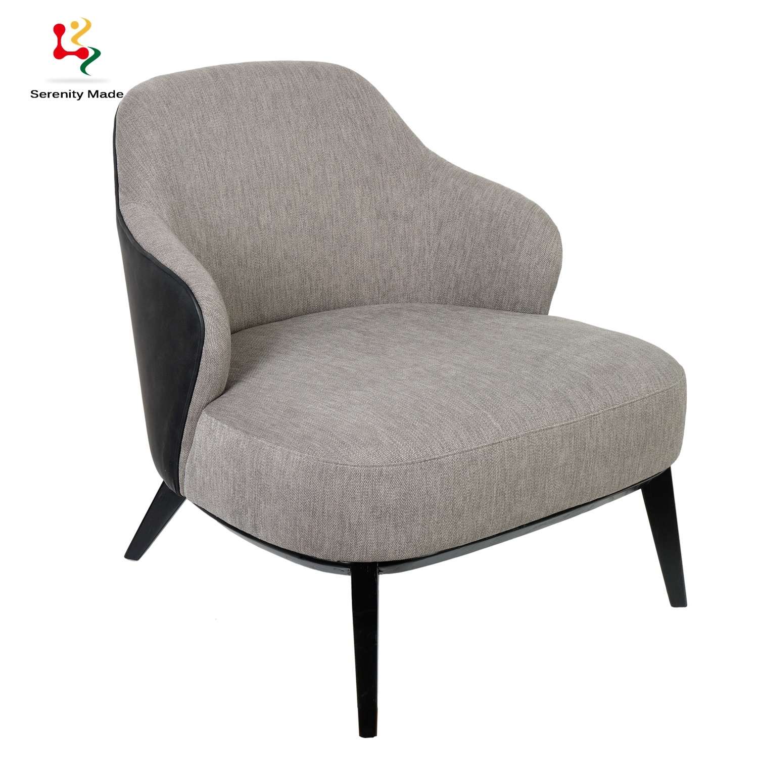 Picture of: China Modern Design Chaise Lounge Sofa Chair For Living Room China Modern Lounge Chair Wooden Lounge Chair