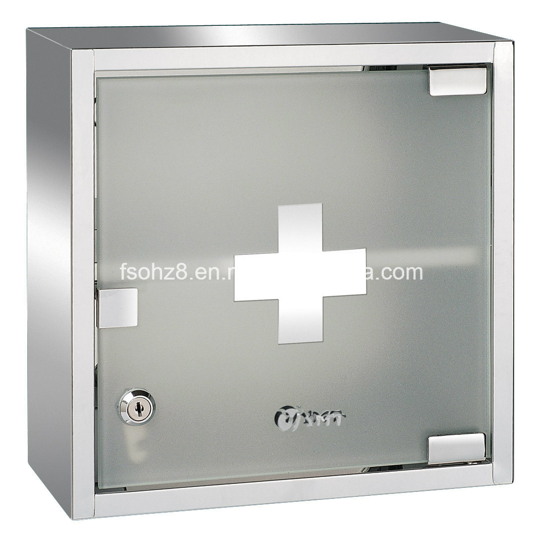 Stainless Steel Furniture Bathroom Medicine Cabinet with Mirror (7036)
