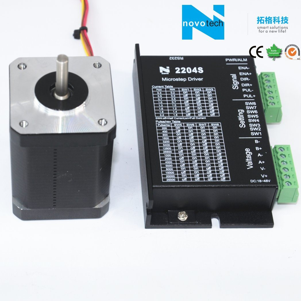 NEMA17 0.71n. M Series Two Phase Stepper Motor 57mm pictures & photos