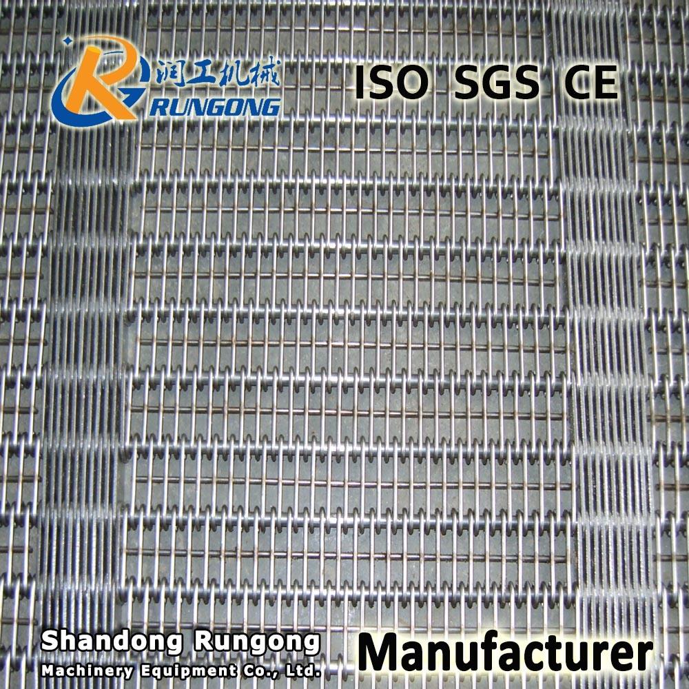 [Hot Item] Ss 304 Eye Link Mesh Conveyor Belt Factory, Ss Conveyor Wire  Belting Prices