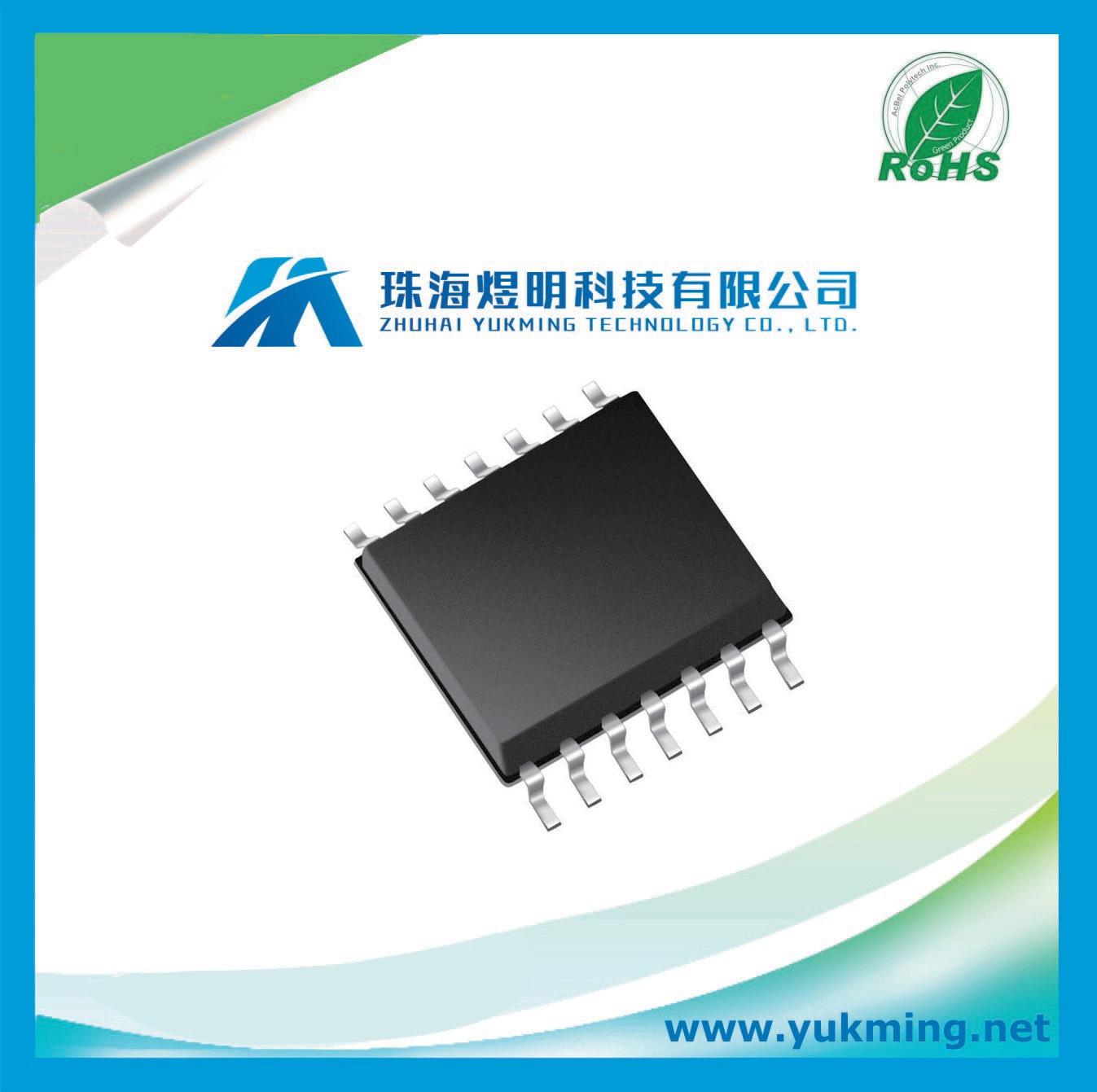China Integrated Circuit Of Low Power Operational Amplifier Ic Mcp604t I Sl