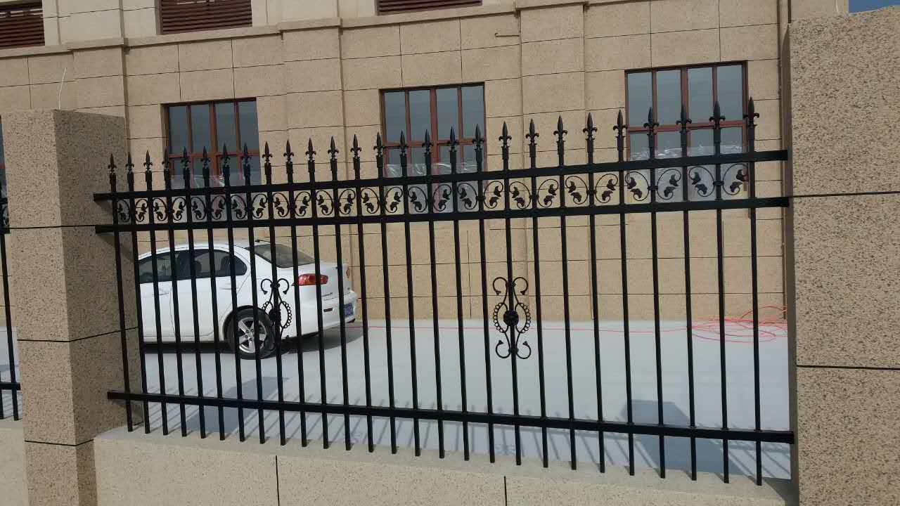 Powder Coated Outdoor Wrought Iron Railings