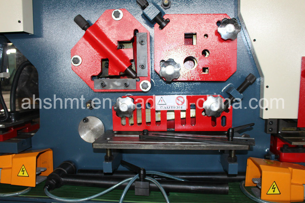 Ironworker, Hydraulic Punch and Shearn, Multi-Function Machine with Punching and Cutting