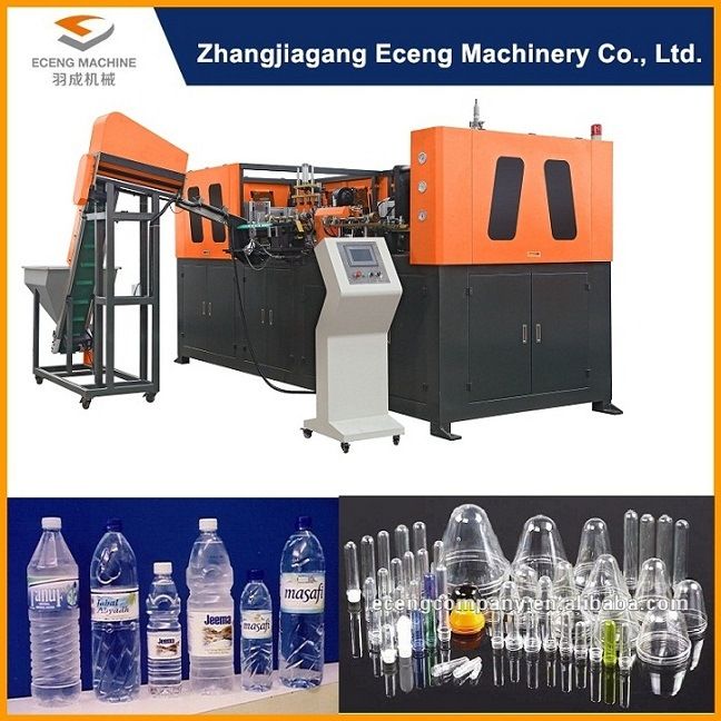 Small Machine to Make Pet Plastic Bottles
