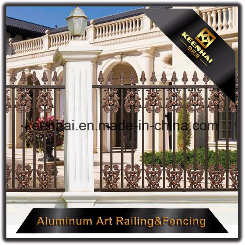 Decorative Power Coated Cast Aluminum Metal Garden Security Fence for Villa pictures & photos