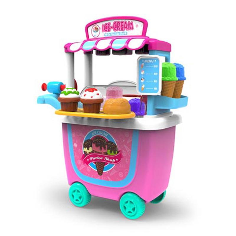 China Kids Pretend Play Kitchen Toy Ice Cream Car Plastic H5931135 Children Kid