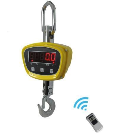 1500kg Digital Crane Scale LED Rotated Hook