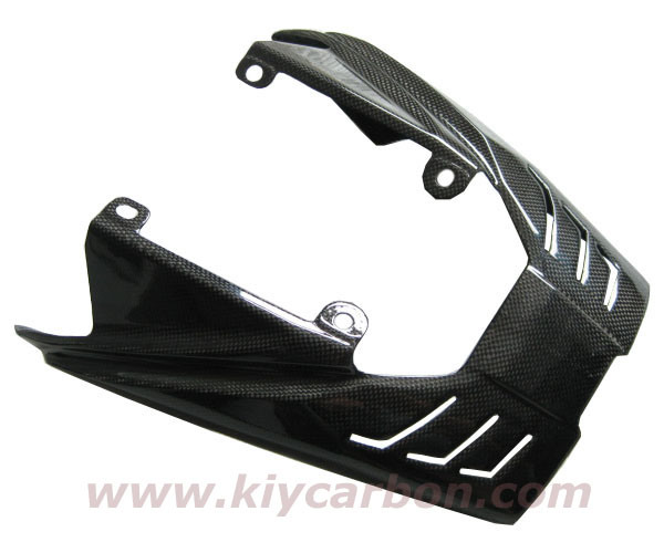 Carbon Fiber Triumph Exhaust Cover