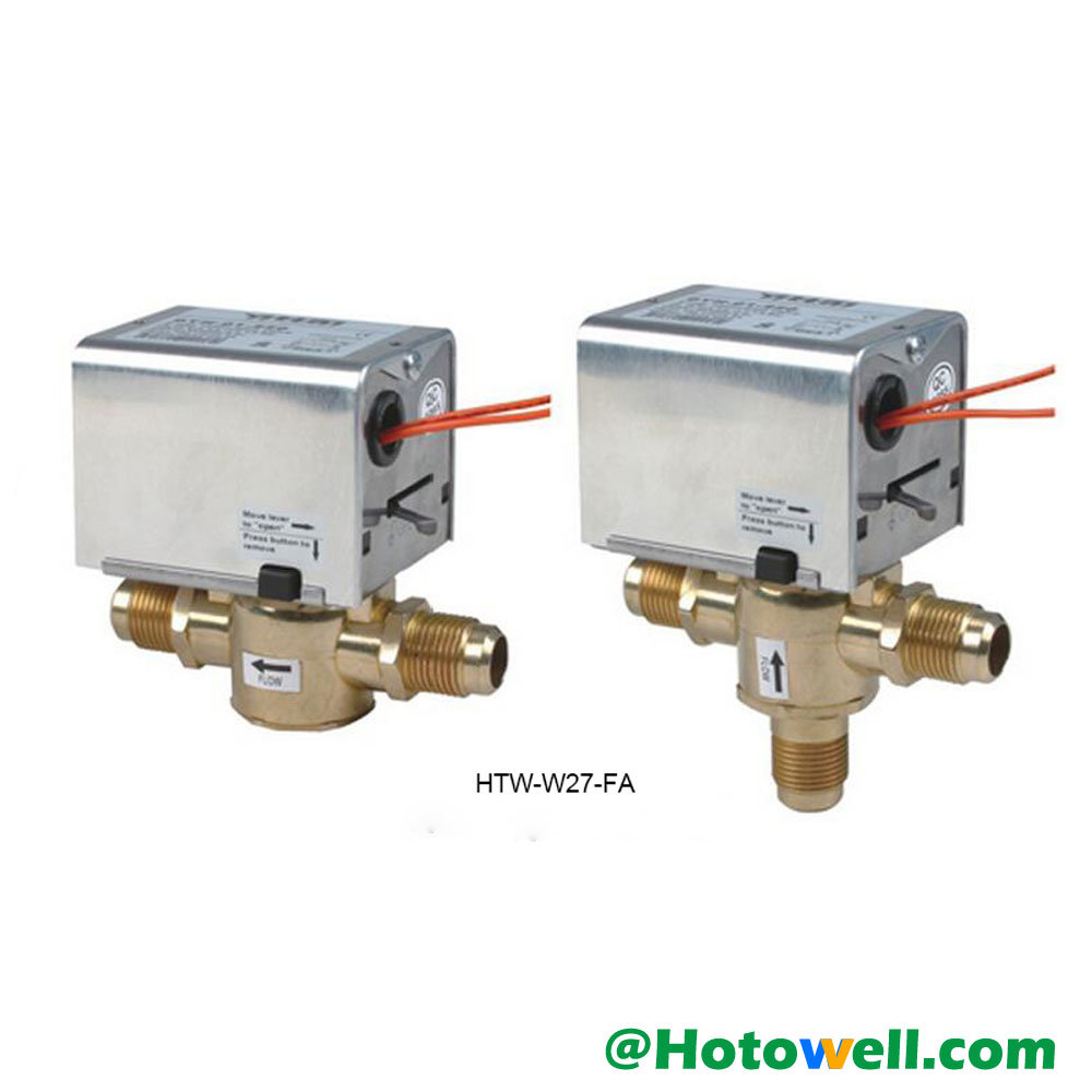China 2 Port 3 Way Hydronic Motorised Heating Zone Valves Htw W27 F Valve Wiring Diagram For Honeywell Taco Replacement