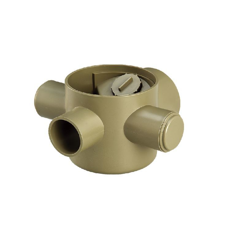 China Upvc Drainage Fitting Gully Trap Lower Type Floor
