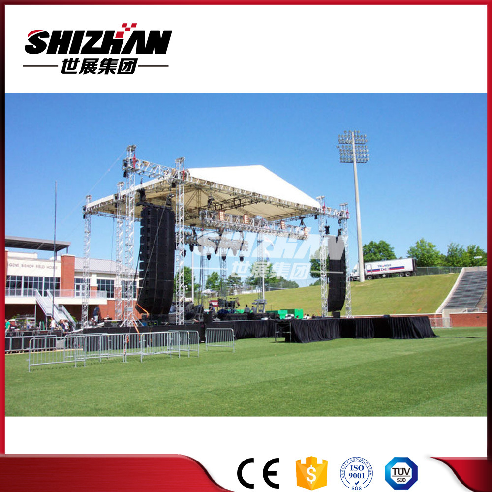 diy portable stage small stage lighting truss. Outdoor Concert Stage Roof Truss Small Lighting Diy Portable