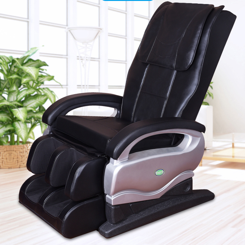 Cheap Price Full Body Electric Massage Chair Foot Back Massager pictures & photos