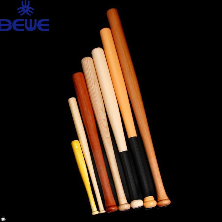 China Factory Price Customized Wood Baseball Bat For Kids Adults