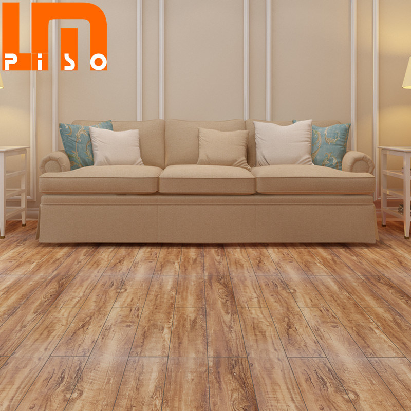 China Cushioned Vinyl Floor Covering Eco Click Lock Non Slip Pvc Plastic Flooring Plank Waterproof